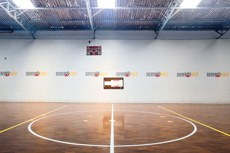 Aluguel de quadra de futsal coberta