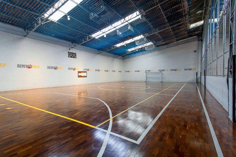 Quadra de futsal para locação